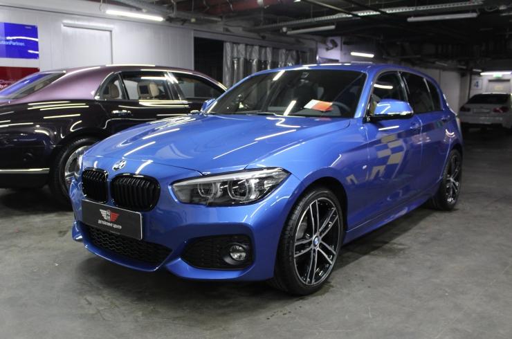 Антигравийная защита BMW 1
