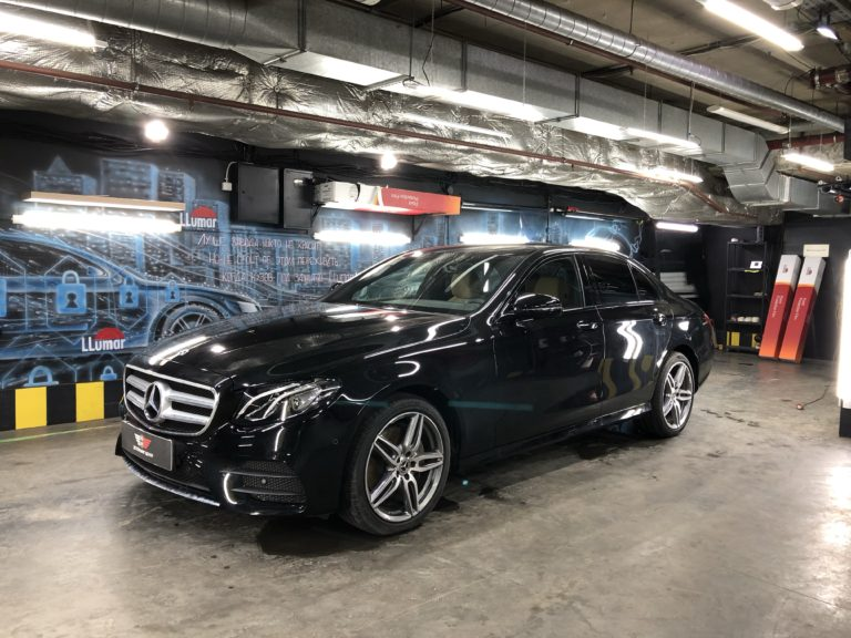 Тонировка Mercedes-Benz E 200