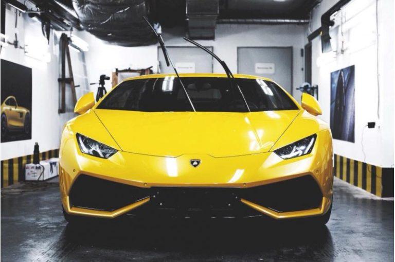 Тонировка Llumar на Lamborghini Hurracan