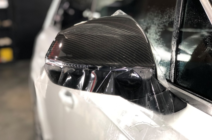 Оклейка автомобиля Audi Q7
