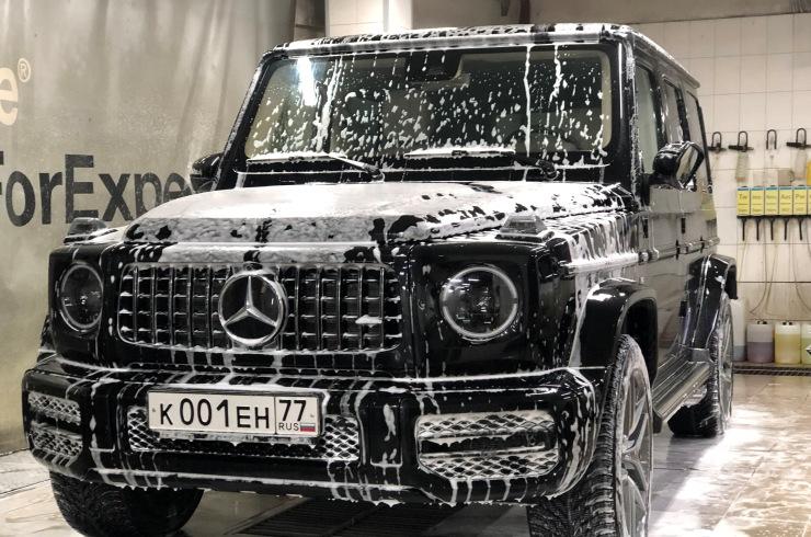 Полная оклейка Mercedes-Benz G 63