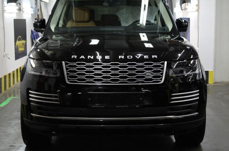 Оклейка кузова Range Rover