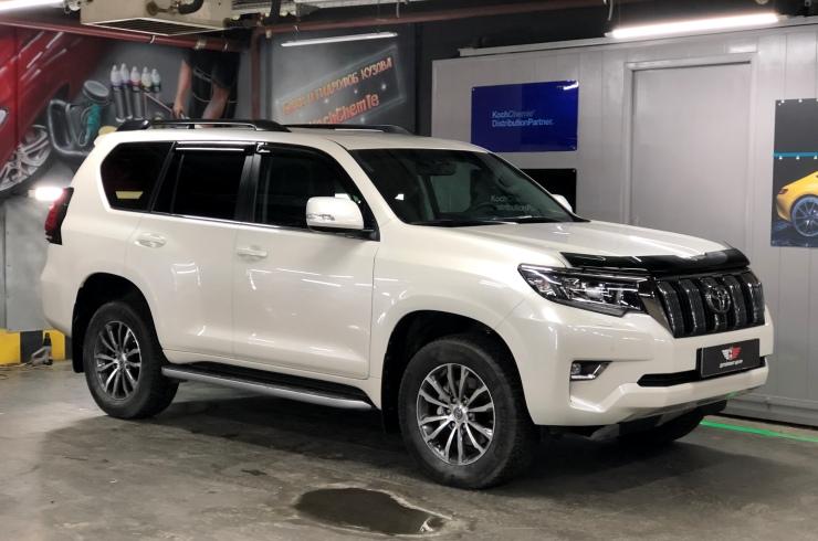 Тонировка и оклейка Toyota Land Cruiser Prado