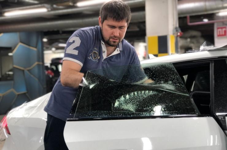 Тонировка стекол Audi A7 Sportback