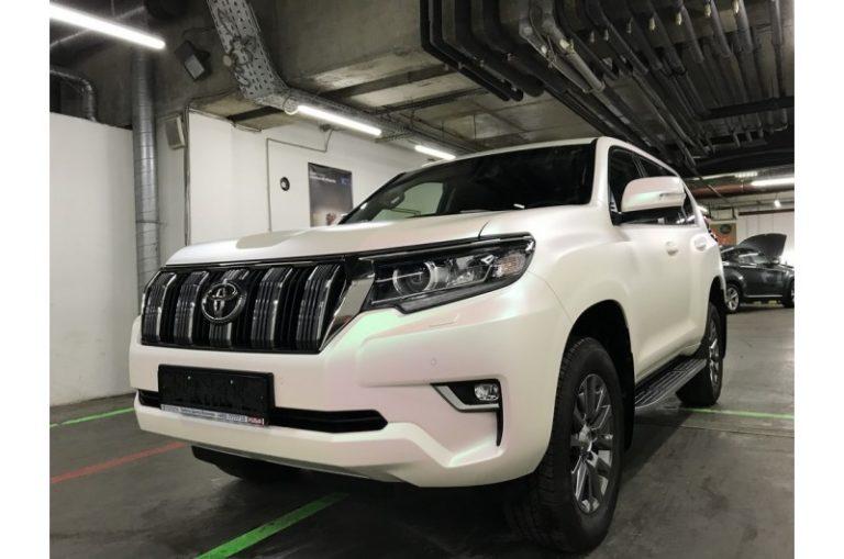 Оклейка Toyota Land Cruiser Prado
